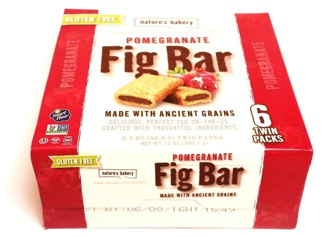 Natures Bakery, Fig Bar Gluten Free Pomegranate (1)