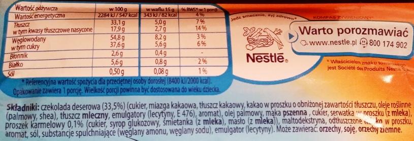 Nestle, Princessa smak karmelowy (3)