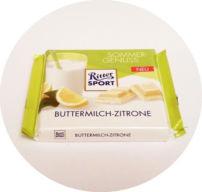 Ritter Sport, Buttermilch-Zitrone (1)