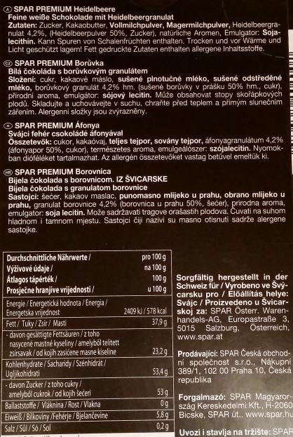 Spar, PREMIUM Heidelbeere (3)