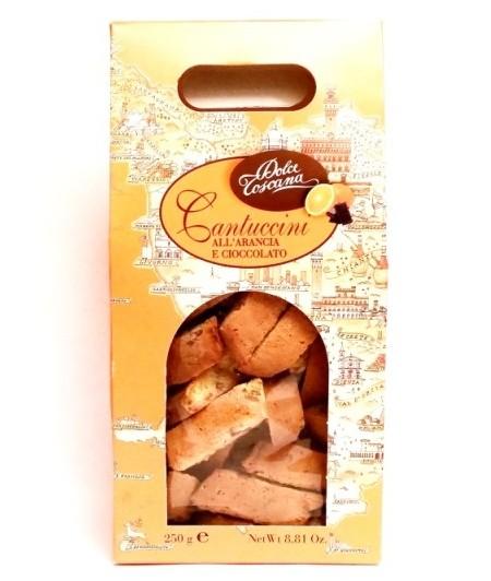 Dolce Toscana, Cantuccini all arancia e cioccolato (1)