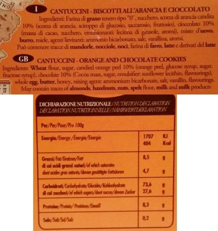 Dolce Toscana, Cantuccini all arancia e cioccolato (2)