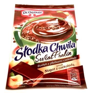 Dr. Oetker, Słodka Chwila Świat Pralin Nugat z czekoladą (1)
