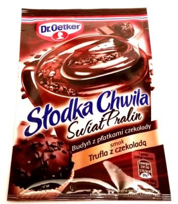 Dr. Oetker, Słodka Chwila Świat Pralin Trufla z czekoladą (1)