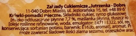 Jutrzenka Dobre Miasto, Krówka mleczna (2)
