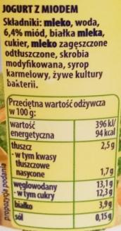 Zott, Natur Jogurt z miodem (2)