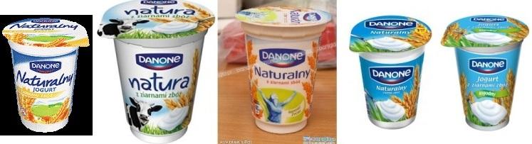 Danone, Jugurt z ziarnami zbóż łagodny (3)