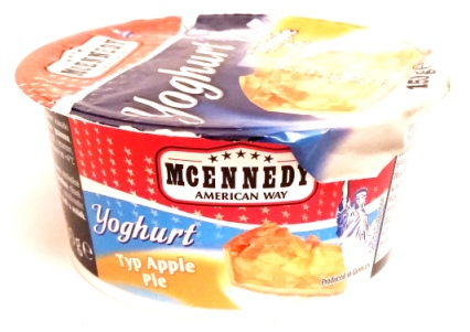 McEnnedy, Yoghurt Typ Apple Pie (1)