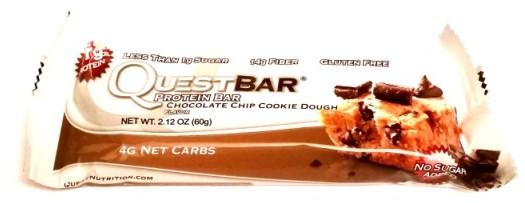 Quest Nutrition, Quest Bar Chocolate Chip Cookie Dough (2)