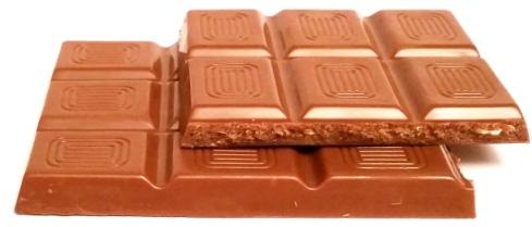 Schuetzli, Milk Chocolate with Hazelnuts and Praline (3)