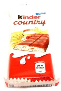 Ferrero, Kinder Country (1)