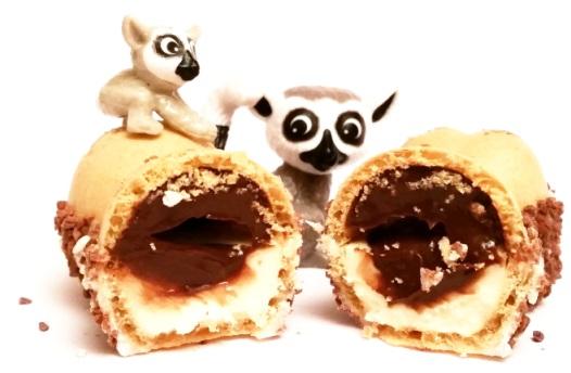 Ferrero, Kinder Happy Hippo cocoa, wafelek z kremem mlecznym i orzechowo-kakaowym, copyright Olga Kublik