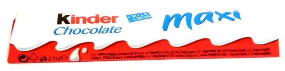 Ferrero, Kinder Maxi batonik (1)