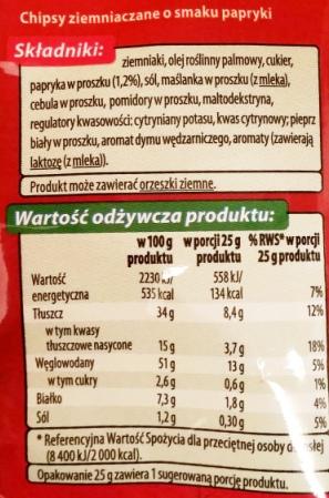 Fifor, Top Chips o smaku papryki (7)