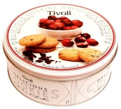 Jacobsens Bakery, Tivoli Delicious Cookies Muesli and Cranberry (1)