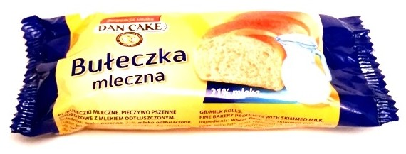 Dan Cake, Buleczka mleczna (2)
