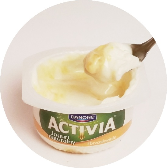 Danone, Activia Jogurt naturalny i brzoskwinie (3)