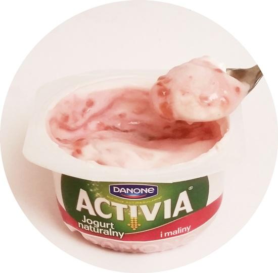 Danone, Activia Jogurt naturalny i maliny (4)