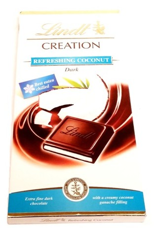 Lindt, CREATION Refreshing Coconut Dark (2)