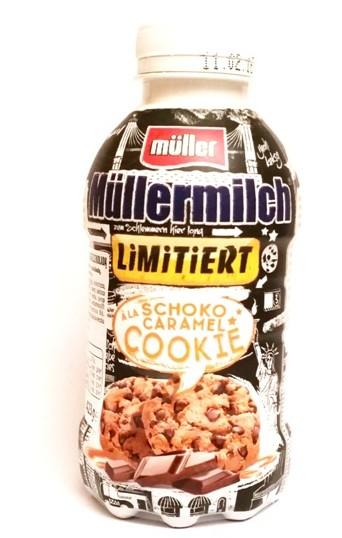 Muller, Mullermilch a la Schoko Caramel Cookie (1)