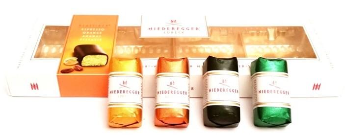 Niederegger, Klassiker-Variationen mit Zartbitter-Schokolade (1)