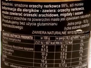 Primavika, Maslo z nerkowcow smazone (3)