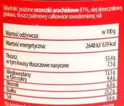 Sante, Maslo orzechowe z kawalkami orzechow (2)