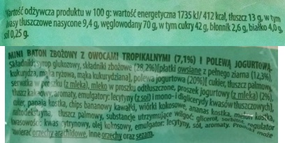 Bakalland, Ba 5 owocow tropikalnych (2)