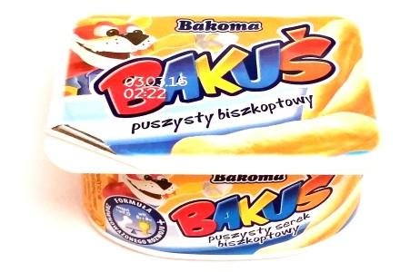 Bakoma, Bakus puszysty biszkoptowy (1)