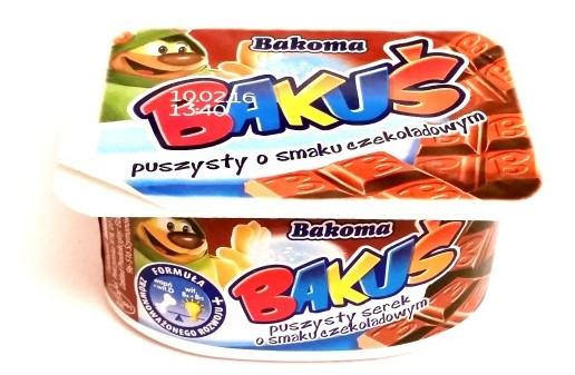 Bakoma, Bakus puszysty o smaku czekoladowym (1)