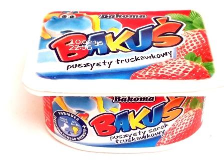 Bakoma, Bakus puszysty truskawkowy (1)