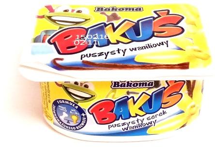 Bakoma, Bakus puszysty waniliowy (1)