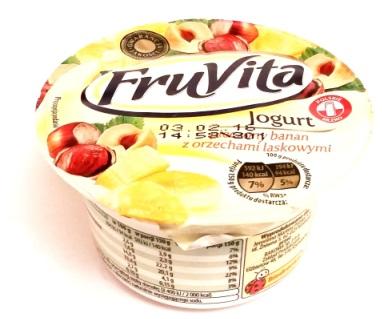 Bakoma, FruVita Jogurt pieczony banan z orzechami laskowymi (1)