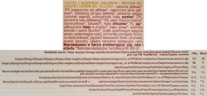 Belkorn, BISkids Apfel-Spelt ciasteczka jablkowe (2)