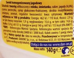 Danone, Danio jagodowe (2)