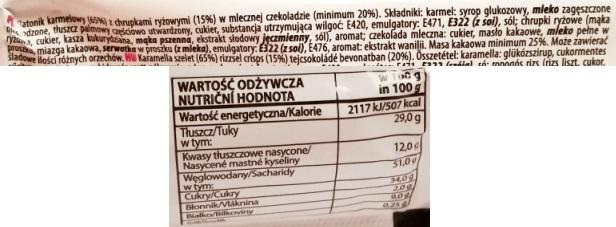 Luzyckie Praliny, Caramel and Crispy (5)