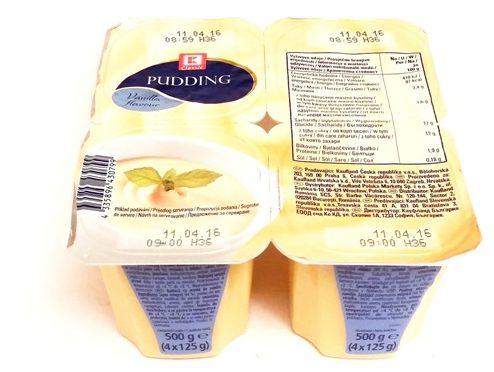Kaufland, Pudding Vanilla flavour