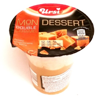 Ursi, Mon Desser Double Caramel (1)