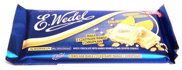 Wedel, Chrrrup biala z czastkami mango i chrupkami (2)