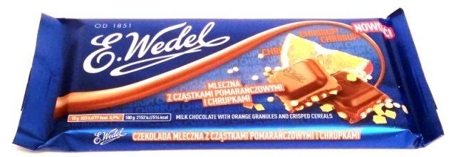 Wedel, Chrrrup mleczna z czastkami pomaranczowymi i chrupkami (3)