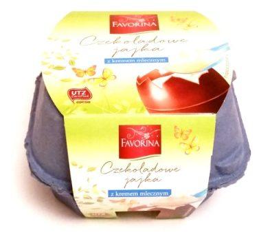 Favorina, Czekoladowe jajka z kremem mlecznym (1)