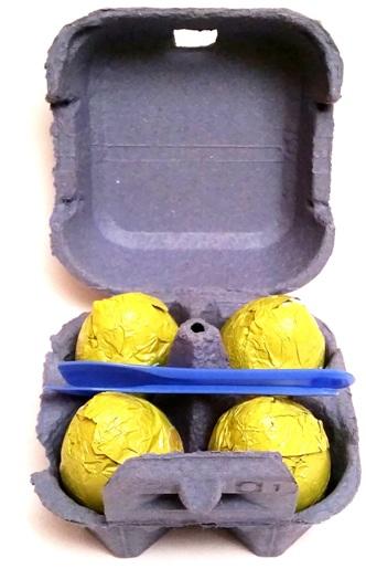 Favorina, Czekoladowe jajka z kremem mlecznym (3)