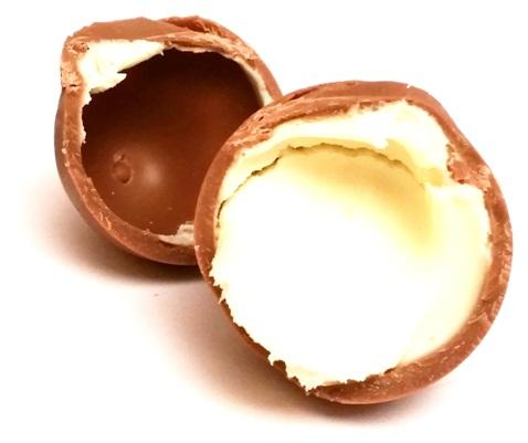 Favorina, Czekoladowe jajka z kremem mlecznym (5)