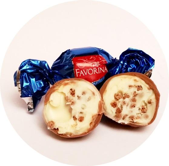 Favorina, praliny mleczne, kakaowe (11)