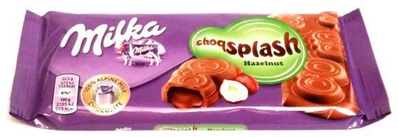 Milka, Choqsplash Hazelnut (2)