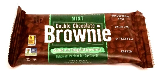 Natures Bakery, Double Chocolate Brownie Mint (3)