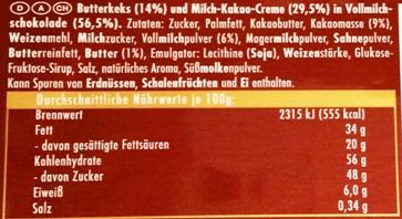 Ritter Sport, Knusperkeks (2)
