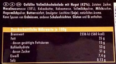 Ritter Sport, Nugat (2)