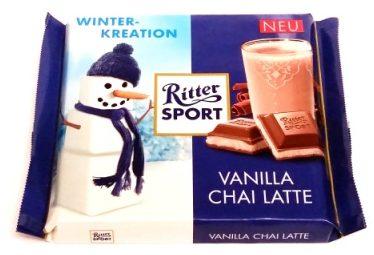 Ritter Sport, Vanilla Chai Latte (1)