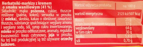 Bahlsen, Hit o smaku waniliowym (3)